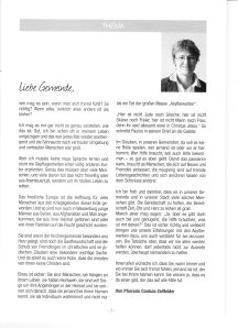 Gemeindebrief März 14