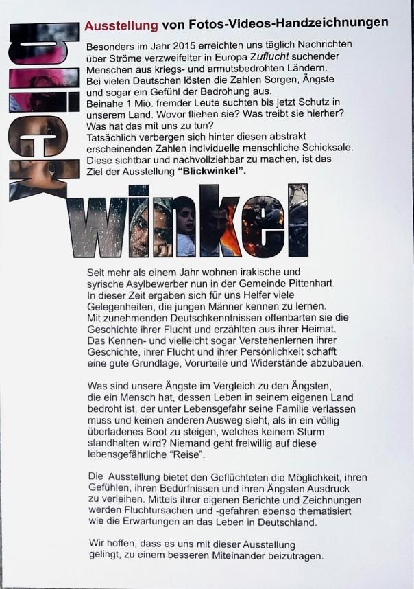Ausstellung Wasserburg Text