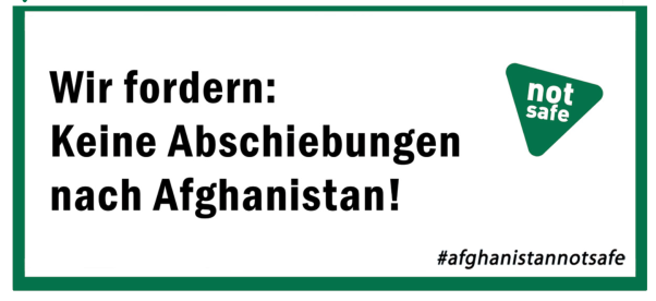 Afghanistan is not safe Poster